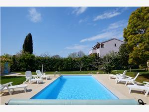 Kuća za odmor Di Te Ne Ma Plava Istra, Kvadratura 230,00 m2, Smještaj s bazenom