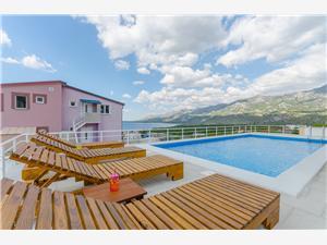 Villa Kristina Kroatien, Stenhus, Storlek 100,00 m2, Privat boende med pool