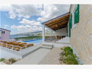 Vila Kristina Hrvatska, Kamena kuća, Kvadratura 100,00 m2, Smještaj s bazenom
