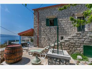Stenen huize Split en Trogir Riviera,Reserveren Darijo Vanaf 128 €