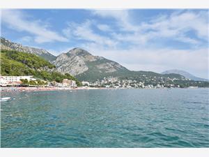 Apartman Dedic Crnogorsko primorje, Kvadratura 55,00 m2, Zračna udaljenost od mora 250 m, Zračna udaljenost od centra mjesta 150 m
