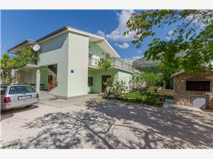 Appartementen Sklopina Starigrad Paklenica, Kwadratuur 40,00 m2, Lucht afstand tot de zee 200 m, Lucht afstand naar het centrum 500 m
