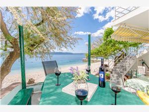 Hus Beach house Toma Zivogosce, Storlek 47,00 m2, Luftavstånd till havet 5 m, Luftavståndet till centrum 30 m