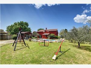 Villa Carla Krnica (Pula), Kwadratuur 150,00 m2, Accommodatie met zwembad