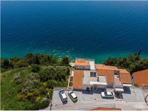 Apartmány Danolic Pisak, Prostor 50,00 m2, Vzdušní vzdálenost od moře 70 m, Vzdušní vzdálenost od centra místa 400 m