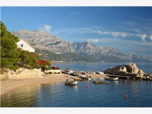 Stenen huize Split en Trogir Riviera,Reserveren Borak Vanaf 258 €