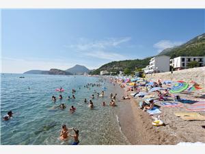 Apartments Sole e Mare Montenegro, Size 39.00 m2, Airline distance to the sea 250 m, Airline distance to town centre 500 m
