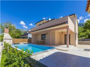 Haus VIKTOR Grižane, Größe 160,00 m2, Privatunterkunft mit Pool