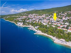 Appartement LUNGOMARE Dramalj (Crikvenica), Superficie 64,00 m2, Distance (vol d'oiseau) jusque la mer 120 m