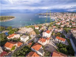 Appartements Karolina Novalja - île de Pag, Superficie 42,00 m2, Distance (vol d'oiseau) jusque la mer 200 m, Distance (vol d'oiseau) jusqu'au centre ville 70 m