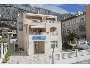 Apartmanok és Szobák Kapulica Tucepi, Méret 20,00 m2