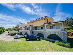 Ferienwohnungen Biserka Icici, Größe 65,00 m2, Entfernung vom Ortszentrum (Luftlinie) 300 m