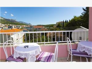 Lägenhet Ivan Makarska, Storlek 52,00 m2, Luftavstånd till havet 120 m, Luftavståndet till centrum 50 m