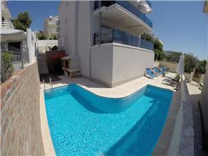Privat boende med pool Split och Trogirs Riviera,Boka Aqua Från 1562 SEK