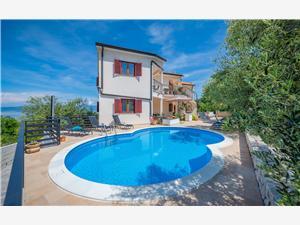 Апартаменты Klaudio голубые Истрия, квадратура 50,00 m2, размещение с бассейном