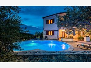 ZEI 391 Labin, Größe 50,00 m2, Privatunterkunft mit Pool