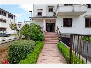 Апартаменты Luciana Истрия, квадратура 53,00 m2, Воздух расстояние до центра города 500 m