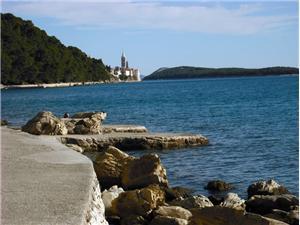 Lägenheter Marotin Palit - ön Rab, Storlek 70,00 m2, Luftavstånd till havet 250 m, Luftavståndet till centrum 400 m