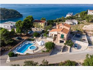 Huis Bonita Blace (Opuzen), Kwadratuur 300,00 m2, Accommodatie met zwembad, Lucht afstand naar het centrum 1 m