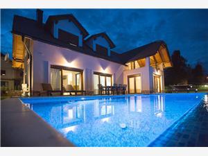Villa Jezerska Vila Kontinentala Kroatien, Privat boende med pool