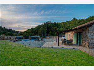 Willa Natura Vrbnik - wyspa Krk, Powierzchnia 60,00 m2, Kwatery z basenem, Odległość od centrum miasta, przez powietrze jest mierzona 200 m