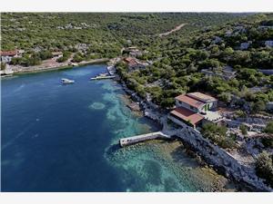 Huis Happy Kroatië, Afgelegen huis, Kwadratuur 35,00 m2, Lucht afstand tot de zee 5 m