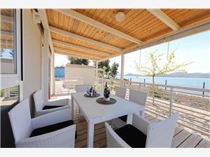 Beachfront accommodation Zadar riviera,Book 2 From 142 €