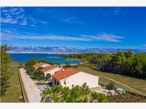 Apartmány Buškulić Anamarija Vir - ostrov Vir, Rozloha 90,00 m2, Vzdušná vzdialenosť od mora 30 m