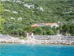 Дом Coleus Хорватия, Дома в уединенных местах, квадратура 56,00 m2, Воздуха удалённость от моря 20 m