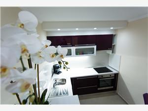 Appartement Songbird Biograd, Kwadratuur 60,00 m2, Lucht afstand tot de zee 200 m, Lucht afstand naar het centrum 50 m
