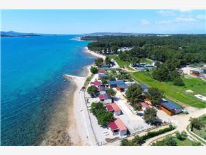 Mobilní dům Frangipani 4 Biograd, Prostor 24,00 m2, Vzdušní vzdálenost od moře 10 m