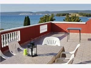 Apartments Saphron Beach Mrljane, Size 30.00 m2, Airline distance to the sea 50 m, Airline distance to town centre 500 m
