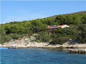 Maison Granny's House Pasman, Maison isolée, Superficie 50,00 m2, Distance (vol d'oiseau) jusque la mer 10 m