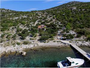 Kuća na osami Sjevernodalmatinski otoci,Rezerviraj Clover Od 771 kn