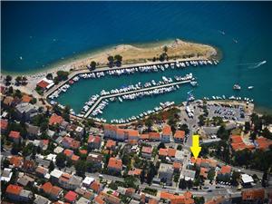 Apartament ANDRY 2 Crikvenica, Powierzchnia 28,00 m2, Odległość do morze mierzona drogą powietrzną wynosi 50 m, Odległość od centrum miasta, przez powietrze jest mierzona 300 m