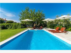 Kuća za odmor Casa Luigia Pula, Kvadratura 110,00 m2, Smještaj s bazenom