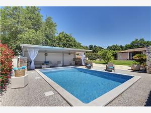 Apartmány Villa Dora Pomer, Prostor 65,00 m2, Soukromé ubytování s bazénem