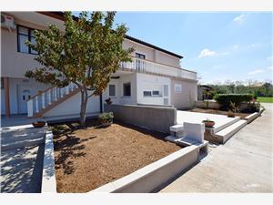 Апартамент Maja Vrsi (Zadar), квадратура 36,00 m2, Воздух расстояние до центра города 100 m