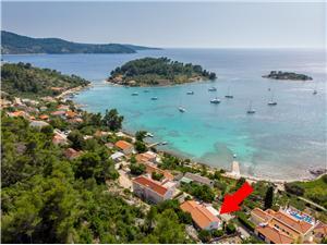 Appartement Ana Gradina, Kwadratuur 55,00 m2, Lucht afstand tot de zee 70 m