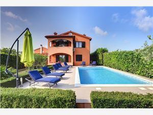 Casa Sissano Liznjan, Size 210.00 m2, Accommodation with pool