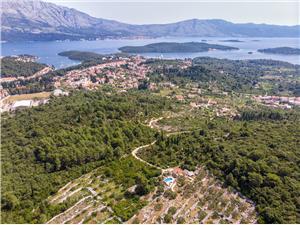 Hiša Nikica Južnodalmatinski otoki, Kamniti hiši, Hiša na samem, Kvadratura 60,00 m2