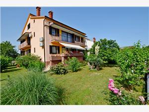 Apartman Katica Plava Istra, Kvadratura 140,00 m2