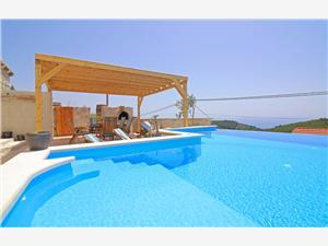 Willa Sea star Babino polje, Kamienny domek, Powierzchnia 100,00 m2, Kwatery z basenem