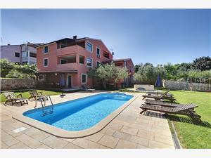 Haus Aldo Banjole, Kvadratura 40,00 m2, Smještaj s bazenom, Zračna udaljenost od centra mjesta 590 m