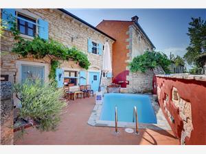 Villa Donatella Svetvincenat, Dimensioni 100,00 m2, Alloggi con piscina