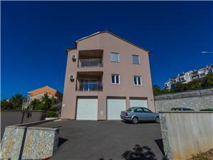 Apartmán Cherry Crikvenica, Rozloha 60,00 m2, Vzdušná vzdialenosť od mora 150 m, Vzdušná vzdialenosť od centra miesta 800 m