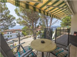 Апартамент Cherry 2 Selce (Crikvenica), квадратура 55,00 m2, Воздуха удалённость от моря 200 m, Воздух расстояние до центра города 950 m