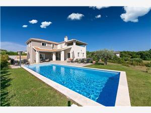 Villa Pietra Visnjan (Porec), Prostor 227,00 m2, Soukromé ubytování s bazénem