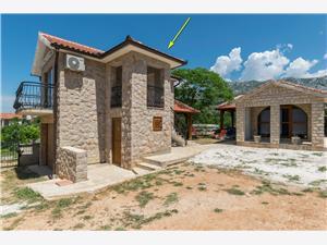Huis Paklenica Stone I Zadar Riviera, Stenen huize, Kwadratuur 25,00 m2, Lucht afstand tot de zee 100 m