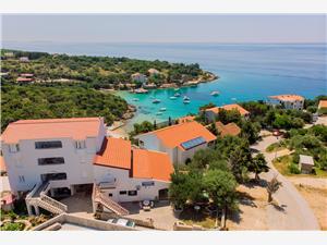 Apartmány Nikola Potocnica - ostrov Pag, Rozloha 38,00 m2, Vzdušná vzdialenosť od mora 100 m, Vzdušná vzdialenosť od centra miesta 70 m